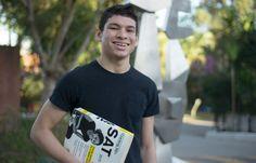 Gustavo Torres da Silva, de 17 anos, irá cursar engenharia física em Stanford (EUA)