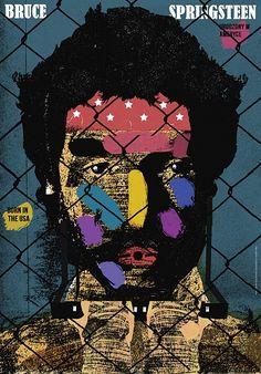 Bruce Springsteen, plakat, Jakub Zasada