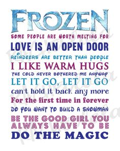 Frozen sayings Disney 5th Birthday Party Ideas, Frozen Birthday Party, Frozen Party, 3rd Birthday, Vinyl Crafts, Diy Arts And Crafts, Vinyl Projects, Christmas Quotes, Christmas Signs