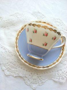Vintage Signed Royal Adderley Fine Bone China Teacup and Saucer ...