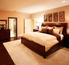 interior design: romantic colors for master bedroom