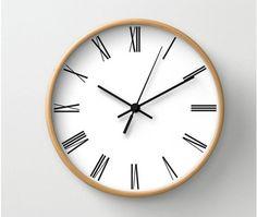 Home Décor New Leff Amsterdam Felt Analog Clock Contemporary Modern Homeware Decorative