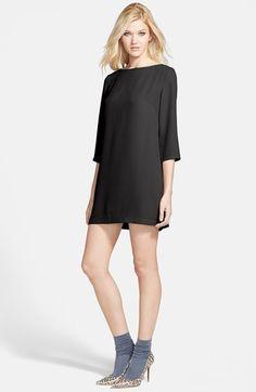 $54, Tildon Boatneck Crepe Shift Dress. Sold by Nordstrom. Click for more info: http://lookastic.com/women/shop_items/154979/redirect