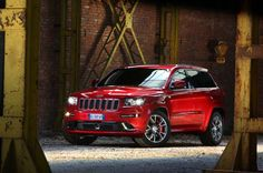 Jeep Grand Cherokee SRT Limited Edition red