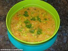 Vločková polévka se zeleninou
