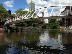 Castlefield basin along the Rochdale Canal in Manchester: don't miss this great run when you're in the city!