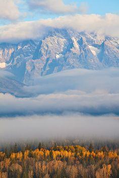 Grand Teton National Park, Wyoming, photo by Stan Rose