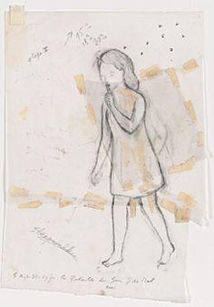 Francis Alÿs, Study for la Bataille du Bien du Mal, 2001 Felix Gonzalez Torres, Franz West, Rock Artists, Gcse Art, Conte, Pilgrimage, Box Art, Illustrators, Art Projects