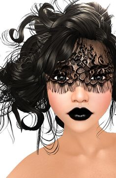 Lace Masquerade Make-Up (Summer of Beauty Festival) by Izzie Button, via Flickr
