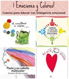4 Cuentos infantiles que relacionan emociones y colores #educacionemocional #inteligenciaemocional