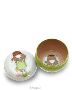 Gorjuss - Dekorativní krabička - The Fox Santoro London, Fox, Plates, Tableware, Licence Plates, Dishes, Dinnerware, Griddles, Tablewares