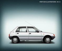 PEUGEOT 205 Junior - 1989 #firstcar