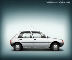 PEUGEOT 205 Junior - 1989 #firstcar