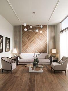 Starwood, Porcelanosa wood effect tiles - Tile Bedroom, Room Tiles, Walnut Wood Floors, Wooden Flooring, Flooring Ideas, Wooden Floors Living Room, Porcelanosa Tiles, Wood Effect Tiles, Wood Wall Tiles