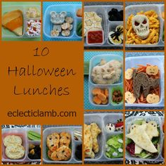 10 Halloween Lunches Collage