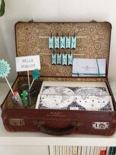 Valise pour urne vintage | Annonces Dentelle