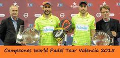 Campeones World Padel Tour Valencia 2015