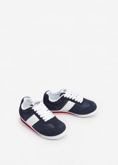 Contrast panel sneakers | MANGO KIDS