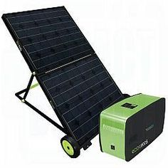 Ecotricity Eco1800 Solar Panel With Battery Pack : Off The Grid Surviv...