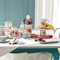Summer dining... Pssst - last chance for 20% off our summer savings on www.bluebellgray.com including these hand painted pretties