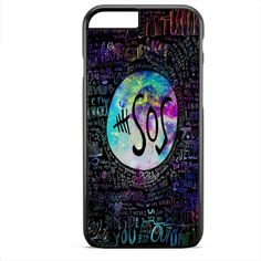 5sos Liryc Quote In Galaxy TATUM-146 Apple Phonecase Cover For Iphone SE Case