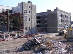 Video slide show of the school's history and recent demolition.Gallagher Film editing and digital conversion, Steve Webe. New Lebanon, Catholic High, Philadelphia, High School, Basketball, Street View, Profile, Memories, City