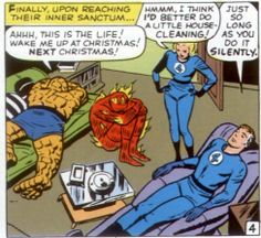 do it SILENTLY - Stan Lee and Jack Kirby Fantastic Four 14