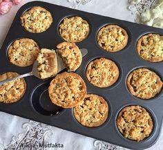 Muffin Kalıbında Elmalı Tart