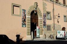 Фотография. Страна. Ареццо. Дом Вазари - уроженца Ареццо, художника и историка живописи.