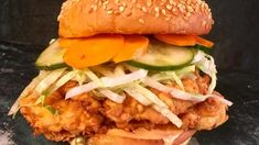 Fried Chicken Sandwich Recipe | The Chew - ABC.com