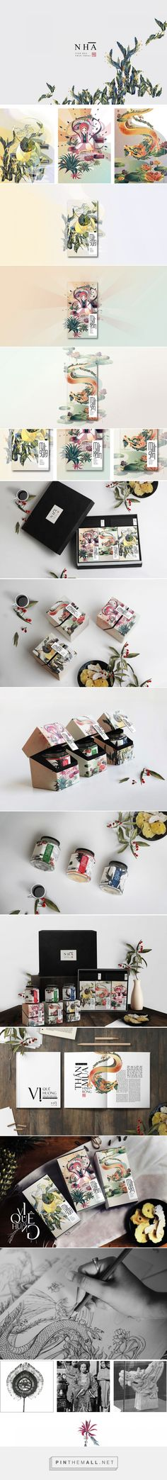 Nhà - Candied Fruit packaging design by Anh Nghiet Nguyen - https://www.packagingoftheworld.com/2018/05/nha-candied-fruit.html