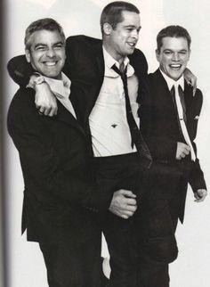 George, Brad and Matt