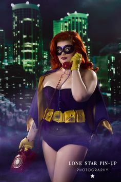 Sexy vigilantes are standing by to take your call...  Batgirl Cosplay