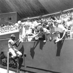 A St. Louis Cardinal signs autographs during Spring Training! (1977) | Florida Memory