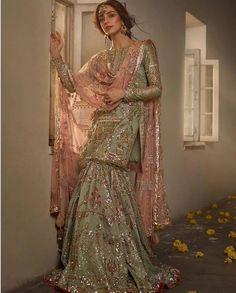 "Maya Ali Poses for ""Ghar Nari"" Bridal Collection – The Odd Onee"