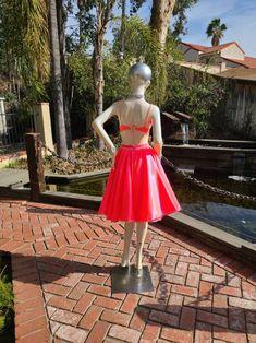 Beautiful Custom Dance Costume jazz lyrical contemporary | Etsy Custom Dance Costumes, Jazz Dance Costumes, Bra Styles, Musical Theatre, Coral, Two Piece Skirt Set, Feminine, Contemporary, Formal Dresses
