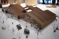 Mount Fuji Architect's Studio model. Photograph: Japanuchi