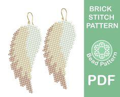 Brick stitch patterns by BeadPattern Beaded Earrings Patterns, Seed Bead Patterns, Beading Patterns, Stitch Patterns, Bracelet Patterns, Embroidery Patterns, Jewelry Patterns, Color Patterns, Crochet Patterns