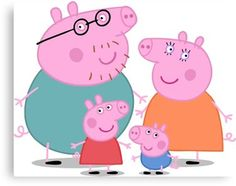 Don't forget, the clocks go back TONIGHT thanks to Daylight Savings Time. Enjoy your extra hour of Peppa Pig! (clocks go back peppa pig meme) Pig Family, Family Wall, Peppa Pig Familie, Familia Pig, Peppa Pig Wallpaper, Peppa Pig Memes, Clocks Go Back, Family Canvas, Bebe