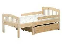 Jatkettava lasten sänky LINDEN Toddler Bed, Furniture, Home Decor, Child Bed, Decoration Home, Room Decor, Home Furnishings, Home Interior Design, Home Decoration