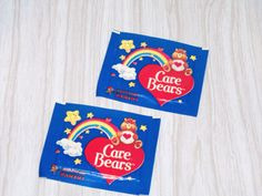 Vtg-Panini-Care-Bears-Figurine-Sticker-Card-Package-Lot-1985-American-Greetings