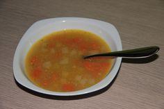 Fotorecept: Polievka so sušeným hrachom Thai Red Curry, Soup, Ethnic Recipes, Soups