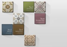 Linea candle packaging