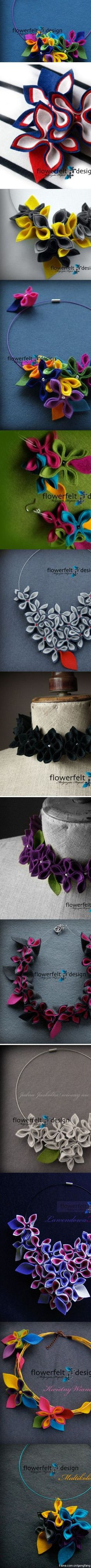 Felt Flower idea. is creative inspiration for us. Get more photo about home decor related with by looking at photos gallery at the bottom of this page. We are want to say thanks if you like to share this post to another people via your facebook, pinterest, google plus or …