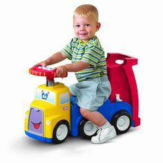 Amazon.com: Little Tikes Handle Haulers Haul and Ride: Toys & Games http://www.toylinksinc.com/