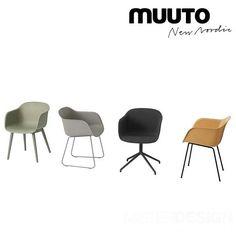 Fiber Chair Stoel, sledebasis - Muuto - Eetkamerstoelen - Stoelen - Meubelen