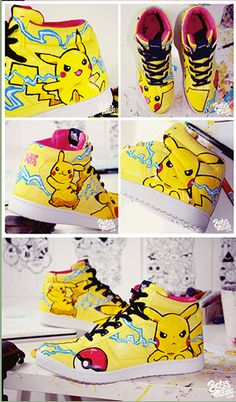 Not going to lie, i kinda want these!!! Totally Geeky Sneaks! -