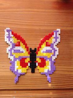 Sommerfugl med en lille fejl på den ene vinge