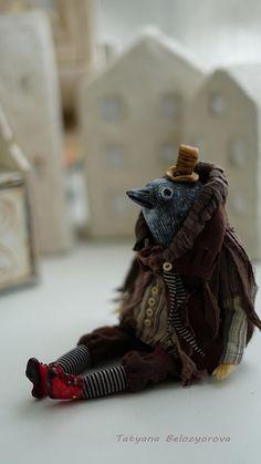 OOAK handmade art doll Handmade doll Figurine Handcrafted