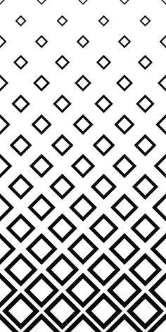 Seamless monochrome square pattern background